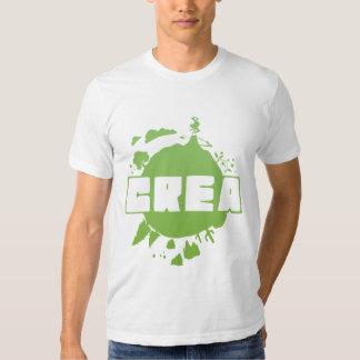 Logotipo do Crea - tshirt branco