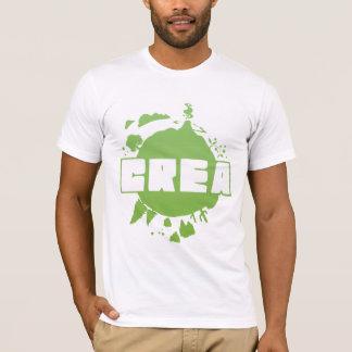 Logotipo do Crea - tshirt branco Camiseta