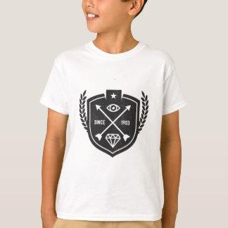 - Logotipo do diamante do vintage do hipster - Camiseta