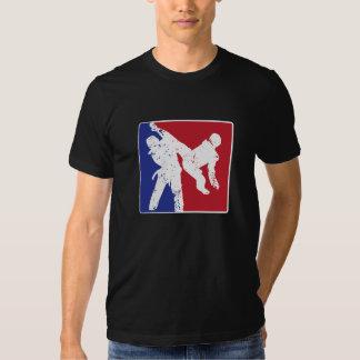 Logotipo do ESPORTE de Taekwondo Tshirt