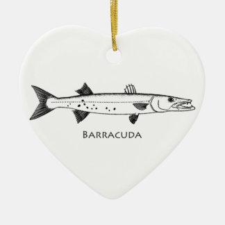 Logotipo do grande Barracuda Ornamentos