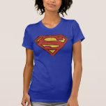 Logotipo do Grunge do superman T-shirt