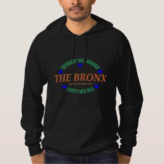 Logotipo do Hoodie w/The Bronx do pulôver do velo