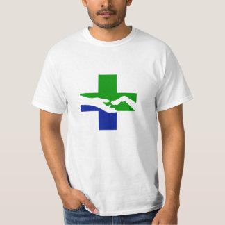 Logotipo do hospital do animal de estimação da t-shirt