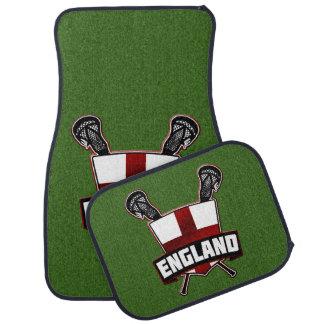 Logotipo do Lacrosse da bandeira de Inglaterra do Tapete Automotivo