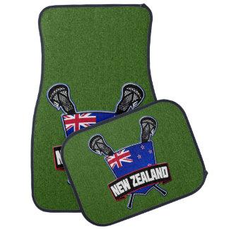 Logotipo do Lacrosse de Nova Zelândia Tapete Para Carro