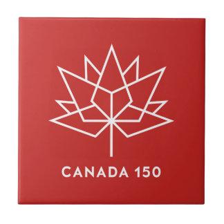 Logotipo do oficial de Canadá 150 - vermelho e