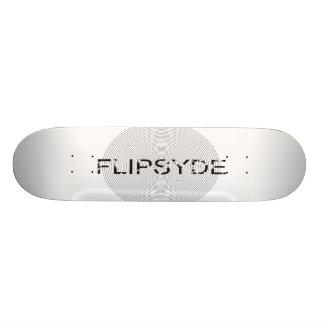 logotipo do original do flypeside skate boards