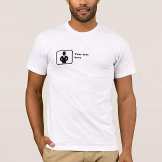 Logotipo do padrinho de casamento -- Customizável Camiseta