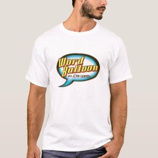 Logotipo do Podcast do balão da palavra Camiseta