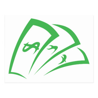 Logotipo do prestamista no estilo do desenho da cartão postal