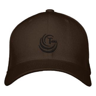 Logotipo do preto do boné da mistura de lãs de