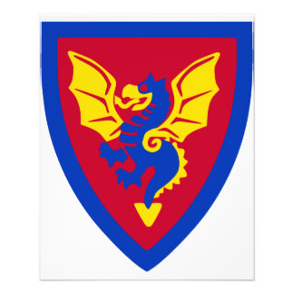 Logotipo do protetor do cavaleiro do tijolo do bri panfleto personalizados