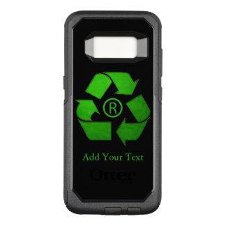 Logotipo do reciclar por Shirley Taylor Capa OtterBox Commuter Para Samsung Galaxy S8
