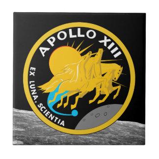 Logotipo do remendo da missão da NASA de Apollo 13