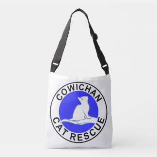 Logotipo do salvamento do gato de Cowichan Bolsa Ajustável
