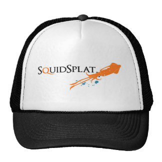 logotipo do squidsplat boné