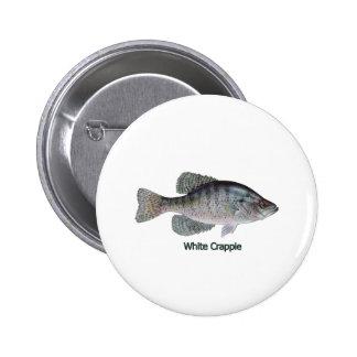 Logotipo do tipo de peixe branco intitulado boton
