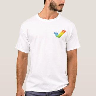 Logotipo do tiquetaque de Amiga Camiseta