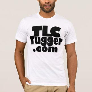 Logotipo do TLC Tugger - enegreça com parte Camiseta