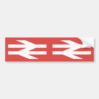 Logotipo do vintage de British Rail Adesivo Para Carro