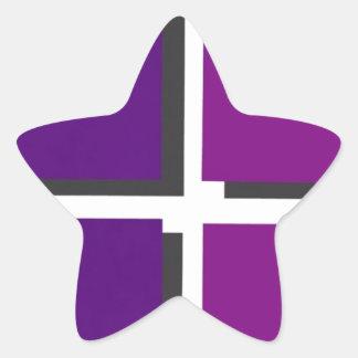 Logotipo dos amigos de sexta-feira adesito estrela