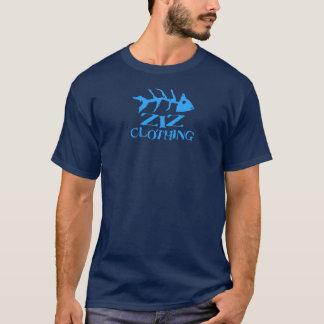 Logotipo dos peixes da roupa de Ziz Camiseta