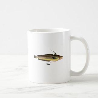 Logotipo dos peixes das pescadas canecas