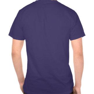 Logotipo dos peixes do espadim azul camiseta