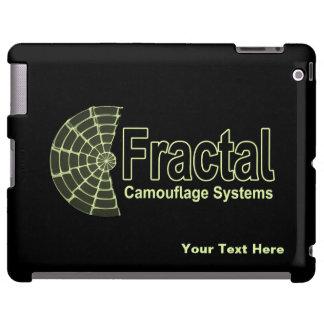 Logotipo dos sistemas da camuflagem do Fractal Capa Para iPad