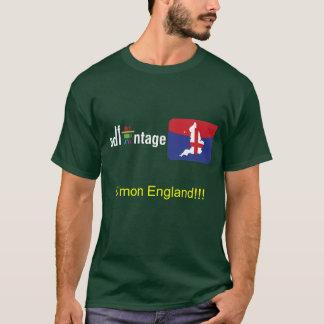Logotipo e bandeira de Adfantage Inglaterra Camiseta