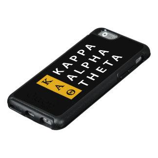 Logotipo empilhado   alfa da teta do Kappa