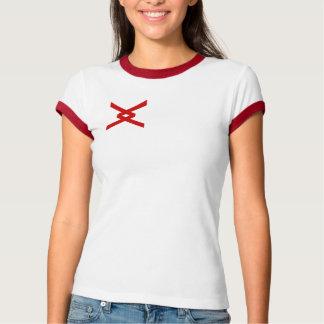 Logotipo fêmea T da afiliação étnica do centímetro Tshirts