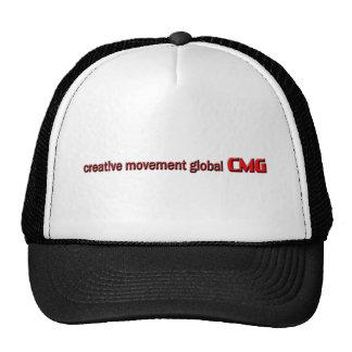 Logotipo global do movimento criativo boné