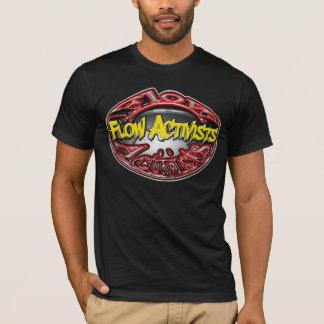 Logotipo grande de Acivists do fluxo Camiseta