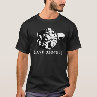 logotipo grave dos escavadores camiseta