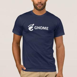 Logotipo horizontal do GNOMO Camiseta