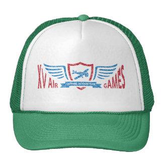 Logotipo imaginário da aviação do vintage - chapéu boné