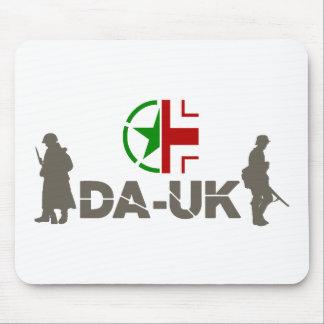 Logotipo impresso da plaza de DA-UK Mousepad