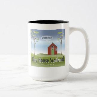 Logotipo minúsculo de Scotland da casa caneca de