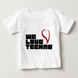 Logotipo-Nós-Amor-Techno Camiseta Para Bebê