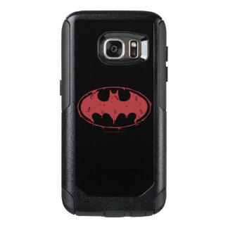 Logotipo Oozing do bastão vermelho de Batman |