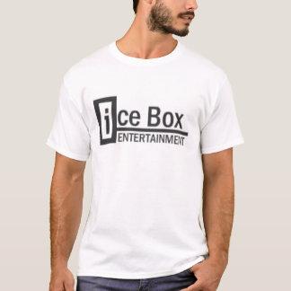 Logotipo otorrinolaringológico da caixa de gelo camiseta
