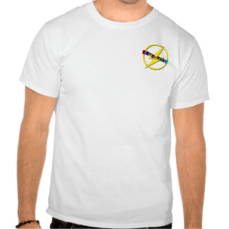 Logotipo pequeno do flashback camiseta