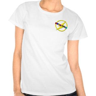 Logotipo pequeno do flashback tshirts