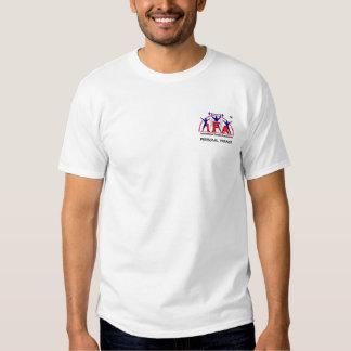 Logotipo pessoal da parte dianteira do instrutor camiseta