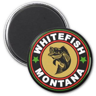 Logotipo preto do círculo do peixe branco ima