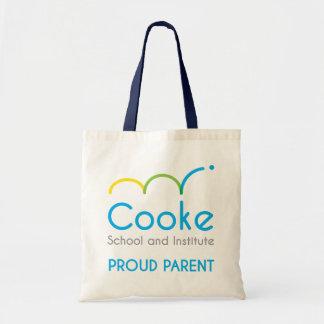 Logotipo principal de Cooke - o bolsa orgulhoso do