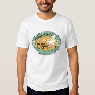 Logotipo profissional do baby-sitter do patamar tshirts