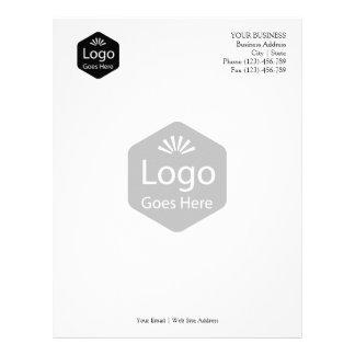 Logotipo relativo à promoção personalizado do papel timbrado